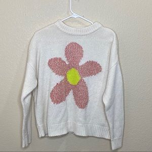 Urban Outfitters Kimchi Blue Chunky Flower Sweater